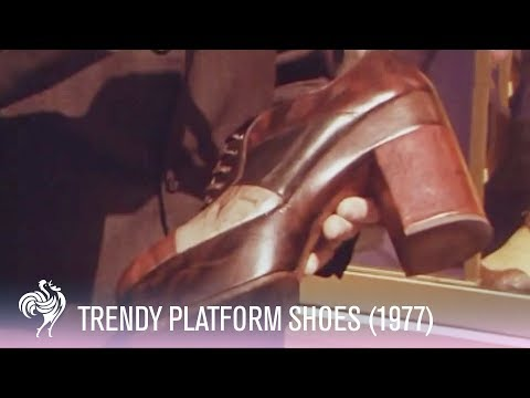 1970s - Mini documentary from the 1970s discussing the latest trend - platform shoes! Fashionistas, experts and members of the public are vox popped on the topic. Wa...