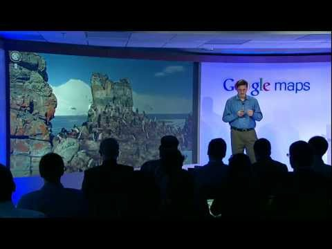 Image of Video Google Maps Press Event: The Next Dimension of Google Maps
