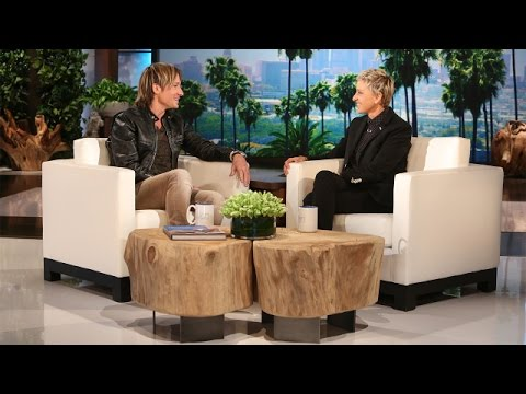 WATCH: Keith on the Ellen Show