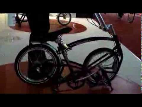 Eurobike show shorts: Bigfish folding bike