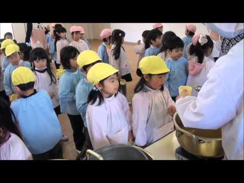 目指せ!幼稚園界のディズニーランド 「出汁味比べ(年中)」 笠間市 ともべ幼稚園