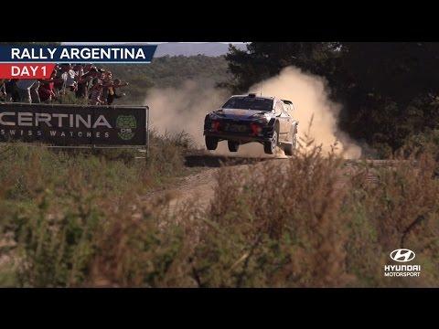 Rally Argentina Day One - Hyundai Motorsport 2017