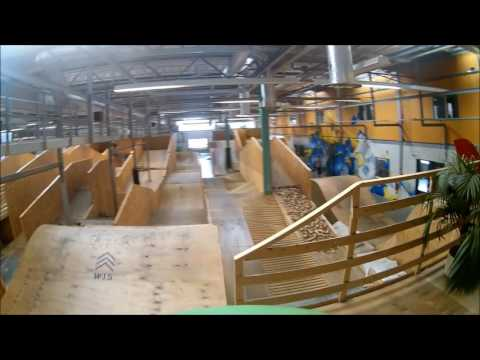 WOOD15, Indoor BMX/MTB park (видео)