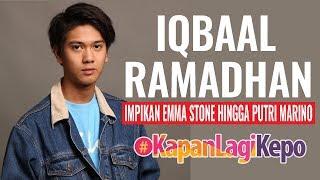 Video Iqbaal Ramadhan Impikan Emma Stone Hingga Putri Marino MP3, 3GP, MP4, WEBM, AVI, FLV September 2018