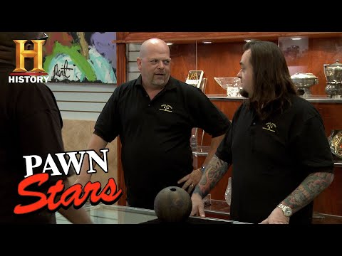 Pawn Stars: A Seller Hopes for a Spare on His 1800s Bowling Ball (Season 9) | History