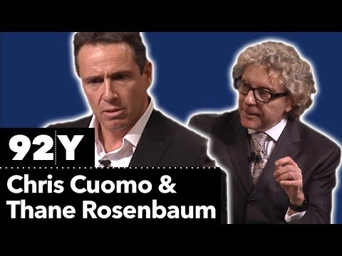 Chris Cuomo and Thane Rosenbaum: the front-row seat to American politics