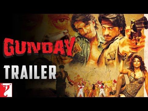 Video Gunday | Official Trailer |  Ranveer Singh | Arjun Kapoor | Priyanka Chopra | Irrfan Khan download in MP3, 3GP, MP4, WEBM, AVI, FLV January 2017