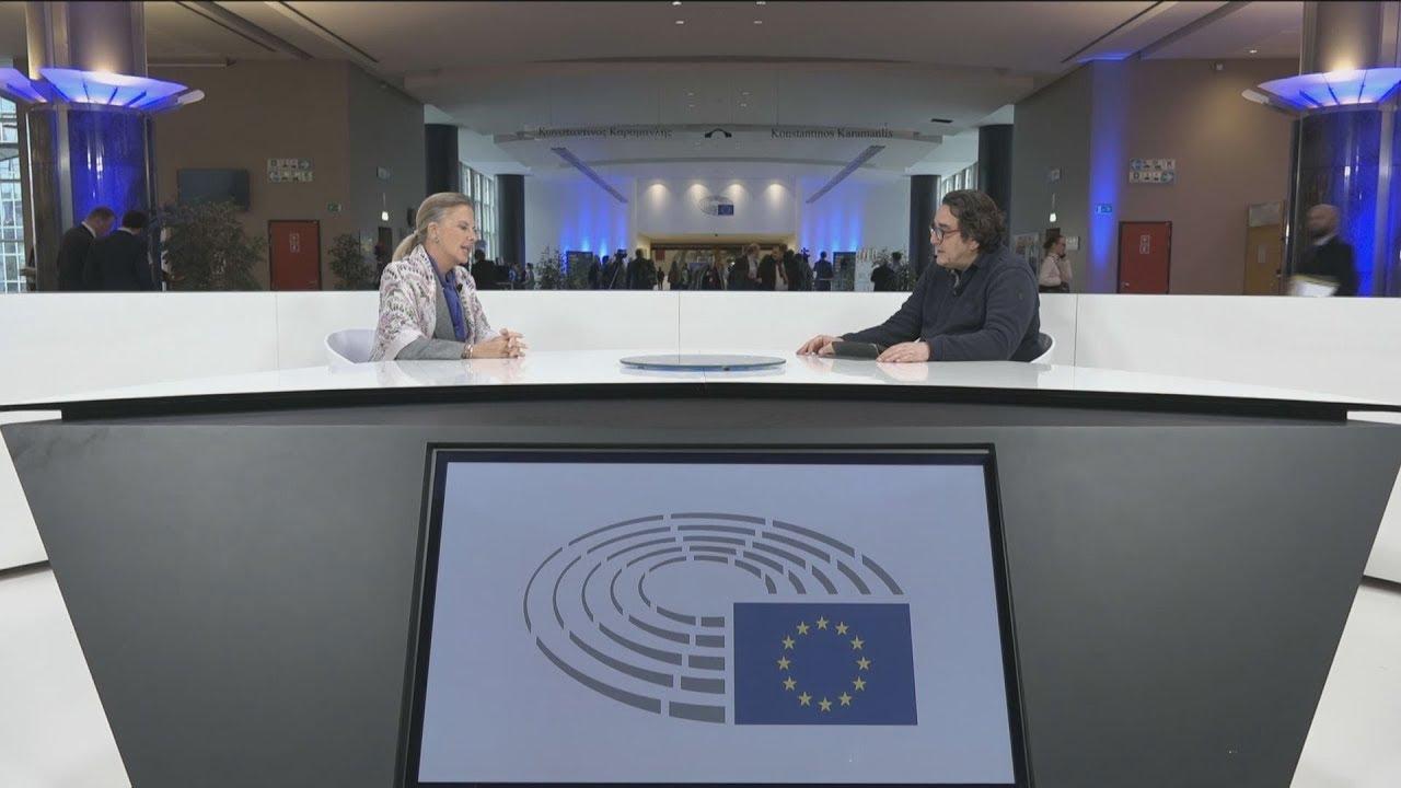Συνέντευξη Ελίζας Βόζεμπεργκ στο ΑΠΕ-ΜΠΕ