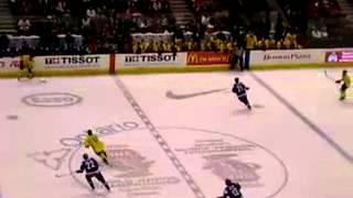 Sweden Vs Slovakia Semi Final At 2009 World Junior Hockey Tournament