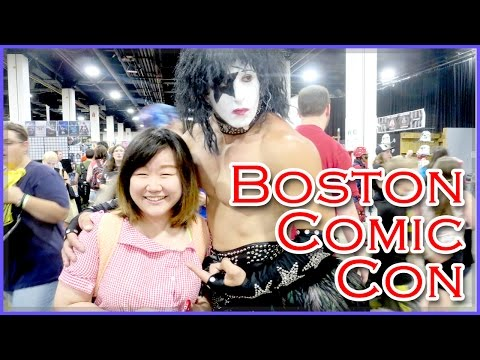 boston - Okay, so this is late but it's always better late than never, right? On August 9th, my sister Jenny and I went on a fun adventure to attend Boston Comic Con 2014 on Saturday. It was our first...