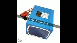 Amorge lithium battery pack 72v 40Ah for ebike youtube video