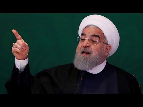 Atom-Deal: Der iranische Präsident Hassan Ruhani  droht den USA