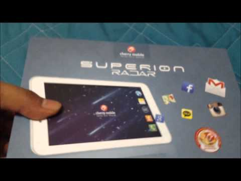 Unboxing of the Cherry Mobile Superion Radar