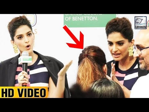 Sonam Kapoor INSULTS Media Reporter For Asking Que
