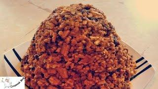 Торт Муравейник со сгущенным молоком -- Ингредиенты 8 порций Масло сливочное 300 г Сахар ½ стакана Мука пшеничная 4 стакана Сметана ½ стакана Сода ½ чайной л...