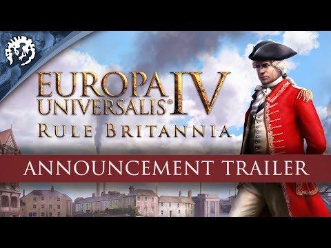 Europa Universalis IV: Rule Britannia - Announcement