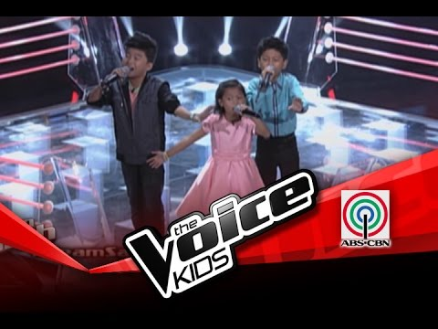 "The Voice Kids Philippines Battles ""Isang Lahi"" by Isaac, Lyca, and Lee"