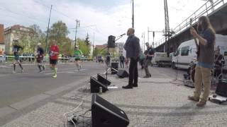 Video Prague Marathon 2017 in 30 minutes  - Street Rock Band View