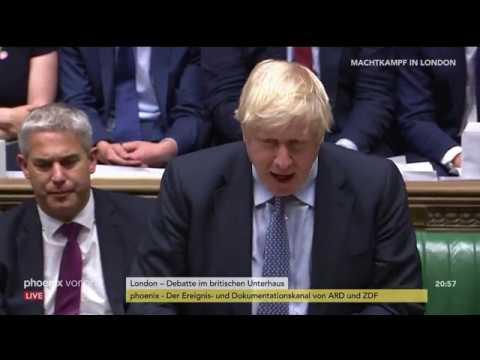 Brexit: Debatte im britischen Unterhaus (2) am 04.0 ...