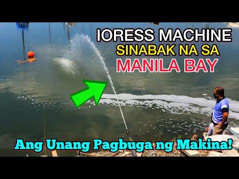MANILA BAY SINABAK NA ANG IORESS MACHINE!