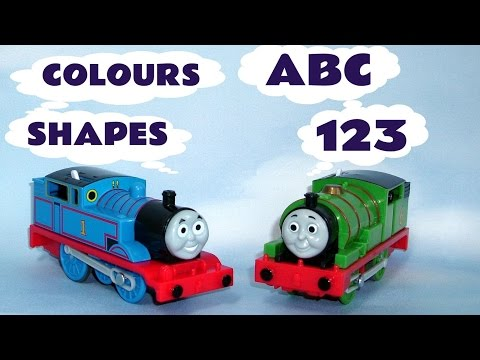 thomas - Thomas ABC A-Z , Peppa Pig 123 Learn to Count, Sesame Street Play Doh Shapes and Thomas Trains Colours are all featured here to make up a longer preschool ed...