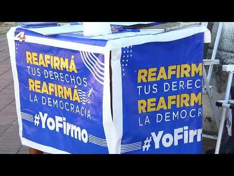 Agrupación Esperanza Nacional del Partido Nacional apoya la recolección de firmas contra la LUC