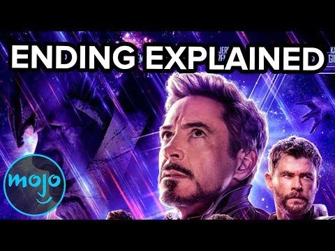 Avengers Endgame Ending Explained