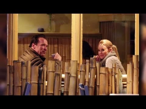 Arnold Schwarzenegger On Date With Mystery Girl – Splash News