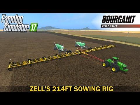 Lantmanen FS Zell's 214ft sowing rig v1.0.0.0