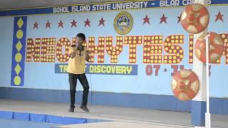 Bilar Philippines  city images : BISU-Bilar student sing (Philippine Geography-Yoyoy Villame)