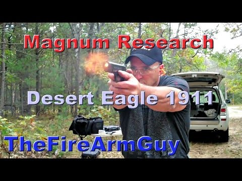 Magnum Research Desert Eagle 1911 with Case Hardened Frame – TheFireArmGuy