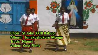 Video Njooni tuingie - St. John XIII Catholic Choir, Rabuor Parish, Kisumu Diocese MP3, 3GP, MP4, WEBM, AVI, FLV Agustus 2019