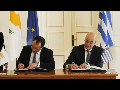 Αθήνα – Λευκωσία καθορίζουν το πλάνο κινήσεών τους για την Αν.Μεσόγειο…