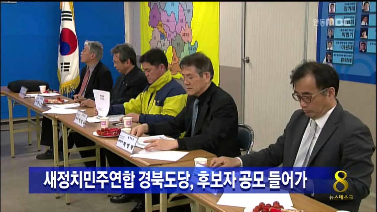 새정치민주연합 경북 공천 본격화