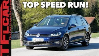 VW vs Autobahn: How Fast Can We Go in the new VW SportWagen? by The Fast Lane Car