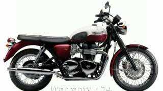 9. 2007 Triumph Bonneville T100 Review, Info