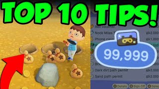 TOP 10 ANIMAL CROSSING NEW HORIZONS TIPS AND TRICKS! by Verlisify
