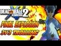 Dragon Ball Xenoverse 2 - 3v3 (Final Explosion Trolling)