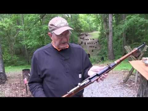 Американец тестирует винтовку Мосина