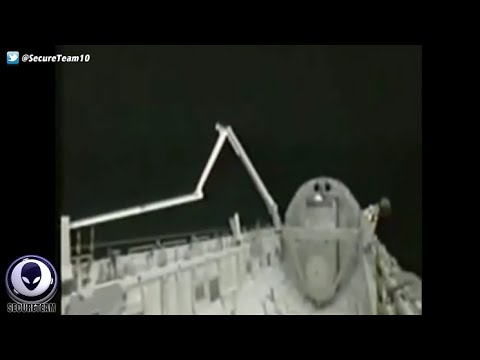 NASA Spooked by UFO