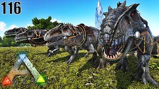 Video JE CHASSE AVEC MON GROUPE DE GIGANOTOSAURUS !   ARK: Survival Evolved ! #Ep116 MP3, 3GP, MP4, WEBM, AVI, FLV Juni 2017