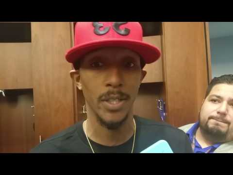 Lou Williams after scoring 31 against Thunder