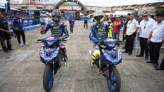 Video Rossi and Viñales in Action at the 2017 'Yamaha GP' Event MP3, 3GP, MP4, WEBM, AVI, FLV Februari 2018