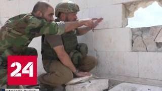 Масштабное наступление в Сирии: репортаж с передовой