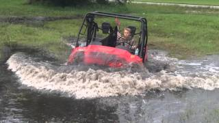 10. Honda big red sxs going deep