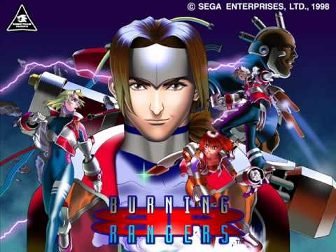 Angels With Burning Hearts - Burning Rangers (English Version)