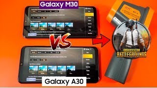 Samsung A30 VS M30 PUBG Gaming Review & Comparison | Galaxy A30 Gaming Review!