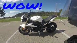 5. 2013 Triumph Street Triple First Ride and Review!