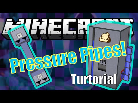 Pressure Pipes Mod Tutorial  - Minecraft 1.7.10