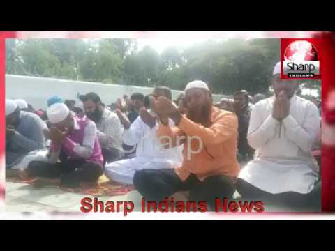 Prayer for Rain: Muslims Offer Namaz e Istisqa at Eidgah Mir Alam,Hyderabad 2019